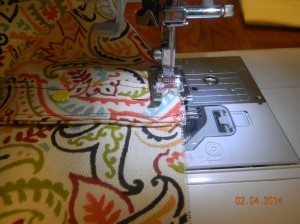 First Handle Stitch