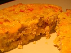 5 Ingredient Egg Bake- ready to eat
