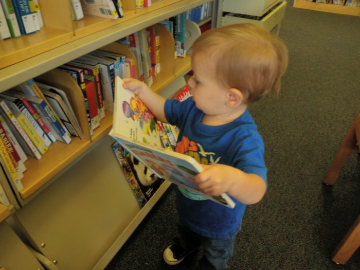 First Trip To The Library
