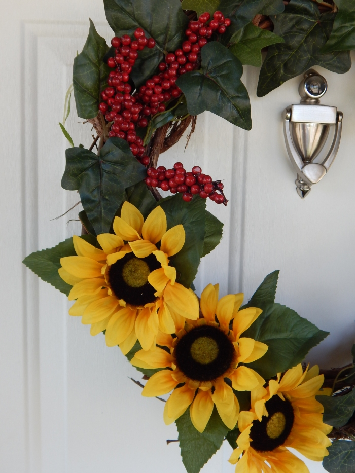 Up Close Wreath