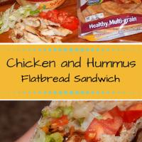 Deliciously Simple Chicken Hummus Sandwich