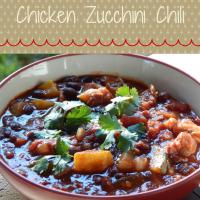 Garden Fresh Chicken Zucchini Chili